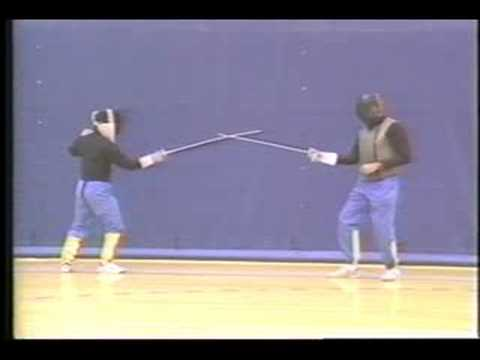 Tyro Fencing Lesson. Foot-Work  Distance Exercises. from Coach GerryD