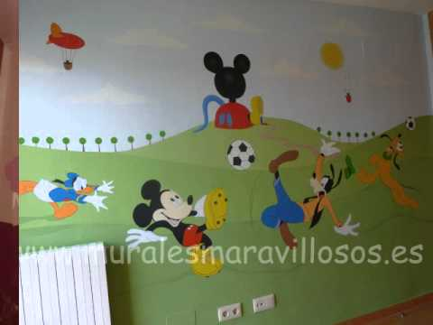 decoracion habitaciones infantiles - YouTube