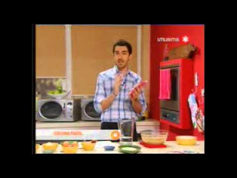 Pablito Martín en Utilísima. receta: Hamburguesas de quínoa.