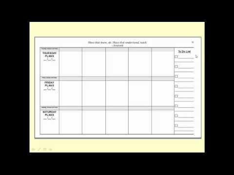 The Dance Teacher's Lesson Plan Book: Standard Planning Edition ...