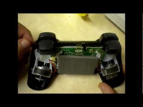 Fixing a PS3 Controller's Trigger Springs