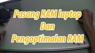 [TUTORIAL] Pasang RAM pada laptop Acer V5-431 dan pengoptimalan RAM