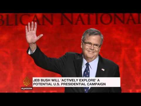 Jeb Bush mulling US presidency-run in 2016