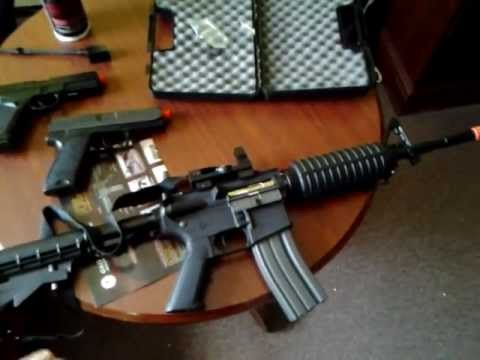 airsoft brasil m4 pistola a gas e eletrica