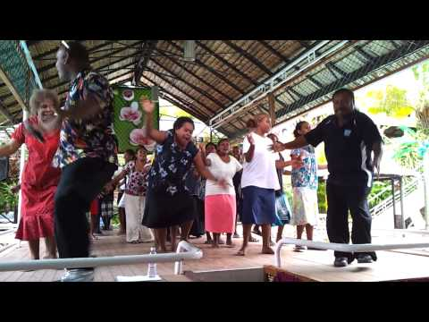 Community singing in a wedding in Honiara, Solomon Islands