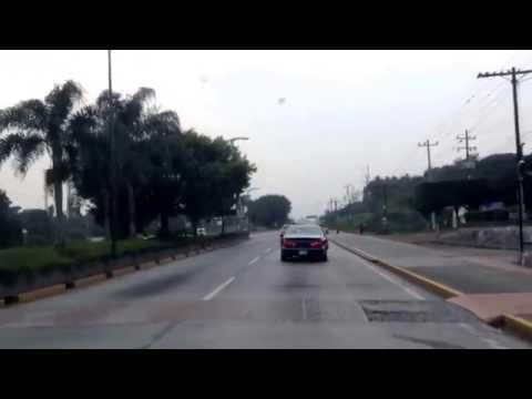 Recorrido boulevart tratados de cordoba,veracruz.,mexico