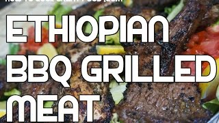 Ethiopian BBQ Recipe - Spicy Brush on Sauce Chicken Steaks Chops Ribs Amharic - የዶሮ ከሰል ጥብስ አሰራር