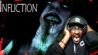 SHE IS LURKING IN THE DARKNESS   Infliction Gameplay Part 1