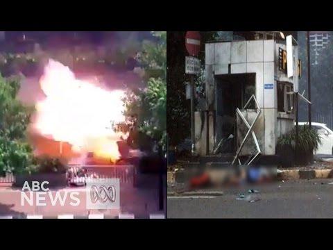 Jakarta bombing: Indonesian capital rocked by terror attack