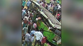 Angul bus accident : 21 killed, 30 injured