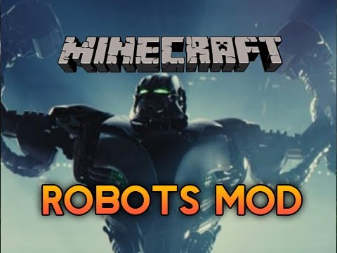 Minecraft: ROBOTIC MOBS MOD! - Helicopters and Other Badass Stuff