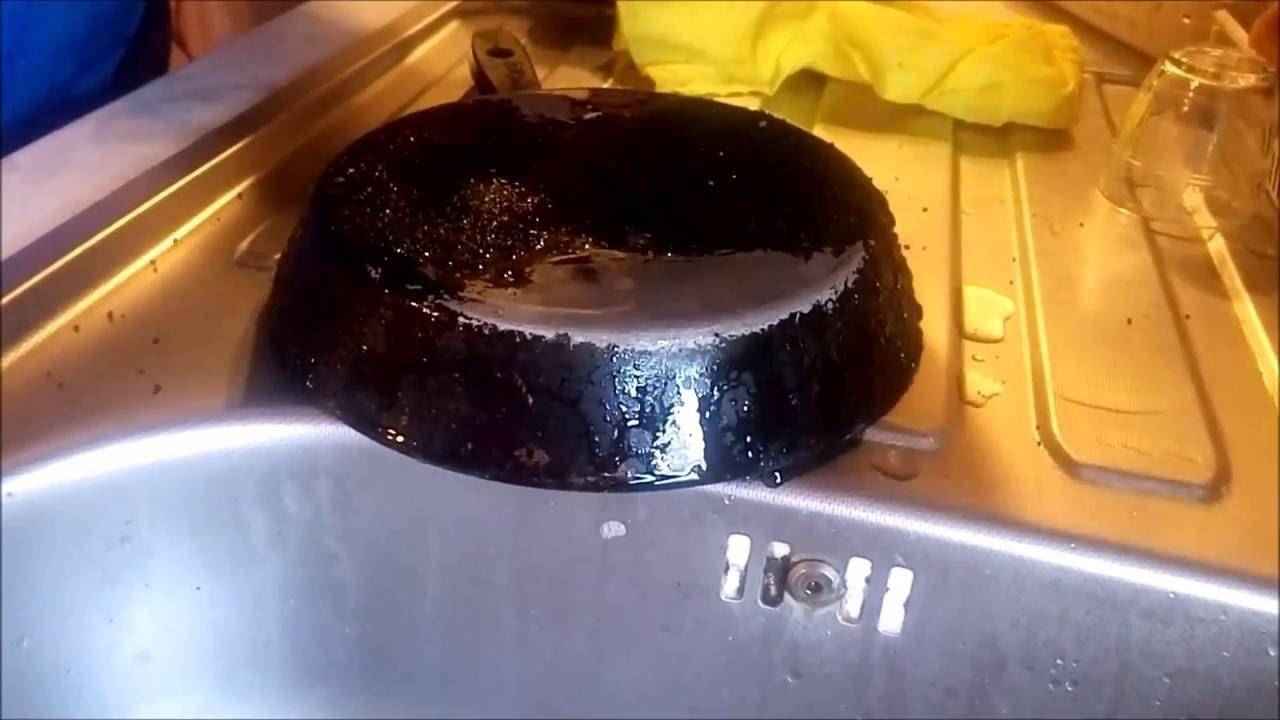 Чистка сковородки в домашних условиях от нагара 399
