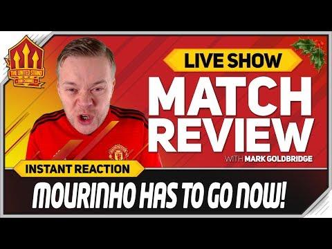 Goldbridge  MOURINHO OUT NOW rpool 3-1 Manchester United Match Reaction