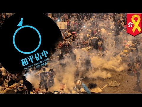 Timeline of Hong Kong's 'Occupy Central' movement
