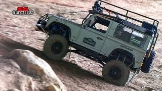 RC4WD Gelande Land Rover Defender 90 RC Offroad Adventures - RC Scale Trucks