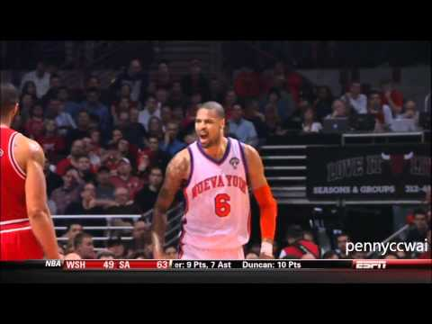 Jeremy Lin vs Derrick Rose complete highlight HD 12.03.2012