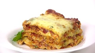 Meat Lasagna Recipe- STEP BY STEP | Cooking With Carolyn
