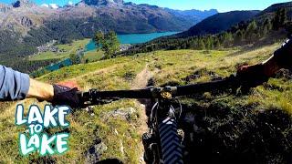 We paid for this sweet Swiss view   Mountain Biking Lake to Lake Part 5