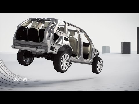 NEW 2015 Volvo XC90 - Run-off Road Protection
