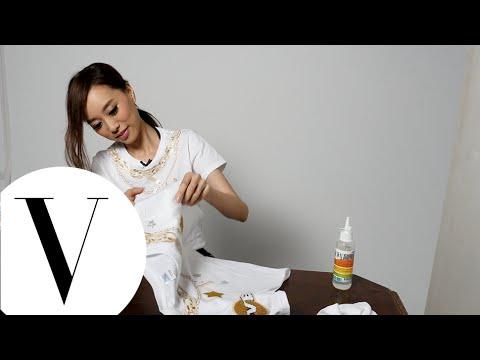 劉容嘉 為 2014 VOGUE 全球購物夜製作T恤