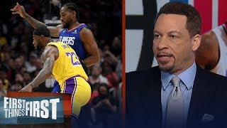 LeBron has a healthy fear of Kawhi that brings out his A-game — Broussard | NBA | FIRST THINGS FIRST
