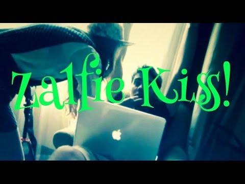 Zalfie Kiss Zalfie Kiss Joeys Vlog