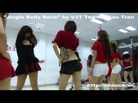 Jingle Bells Rock sexy dance class in Saigonbellydance by V3T Thanh Thao Tran