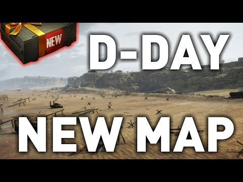 World of Tanks || Overlord: D-Day Map Preview!