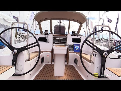 2016 Elan Impression 45 Sailing Yacht - Deck and Interior Walkaround - 2016 Annapolis Sailboat Show