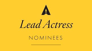 Oscars 2017: Performance by an Actress in a Leading Role Nominees