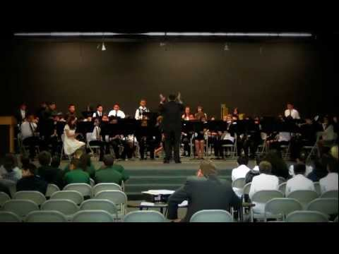 Rialto high school concert band 2012 dawn of a new day
