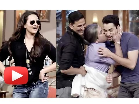 Akshay Kumar, Sonakshi Sinha, Imran Khan - Comedy Nights With Kapil
