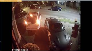 Stolen Land Rover Discovery - Actual CCTV Footage (Gone in 163 seconds using RFID scanner)