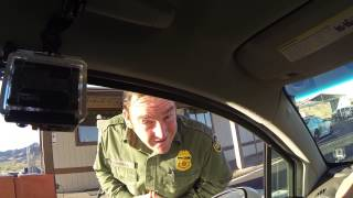 Checkpoint Secondary Refusal - Citizenship Unclaimed, US Border Patrol Questioning