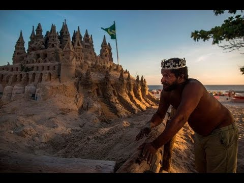 The Man Who's Lived In A Sand Castle On Brazil Beach