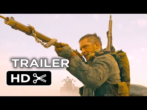 Mad Max: Fury Road Comic-Con TRAILER (2015) - Tom Hardy Post-Apocalypse Action Movie HD