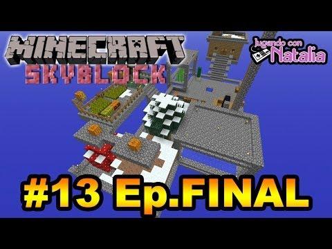 Final de la Serie + Tutorial + Descarga - Viernes de Minecraft | SkyBlock #13