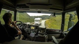 CV Driving Scania S520 - Vikafjellet Rv. 13 Serpentine
