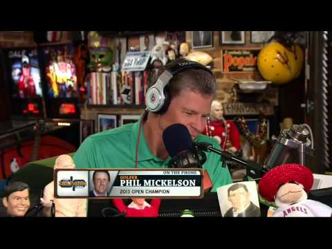 Phil Mickelson on The Dan Patrick Show 7/26/13