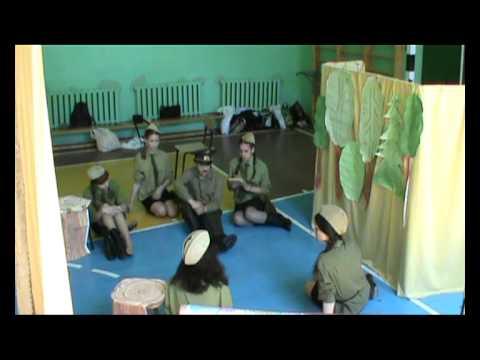 Спектакль А зори здесь тихие 15 мая 2012 года
