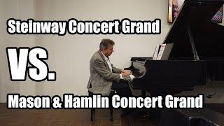 Steinway Versus Mason & Hamlin Concert Grand - Living Pianos Vlog