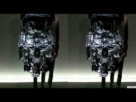 Cutaway Turbo Subaru Engine in  3D Video from CarsInDepth.com