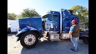I Bought a Wrecked Peterbilt 379 Semi Truck