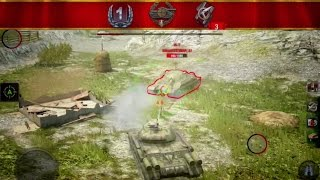 IS-4 VS IS-7 Duel [WoT Blitz]