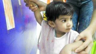 Arnav in his Play School.