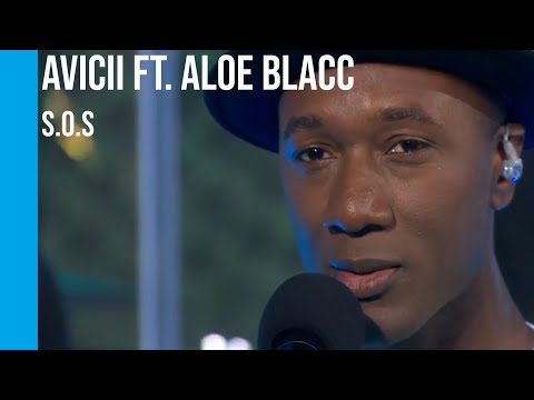 Avicii - S.O.S ft. Aloe Blacc (live) | sub Español + lyrics