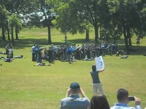 Carver Middle School Civil War Reenactment