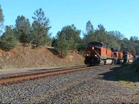 Railfanning Oroville, California: November 23, 2009 | Featuring UP's EC4