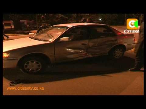 Nairobi Roads at Night