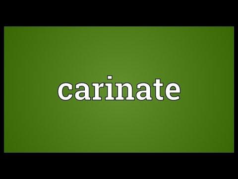 Header of carinate